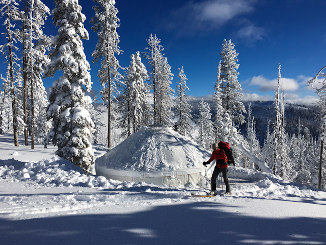 Hut Touring – Montana Backcountry Alliance