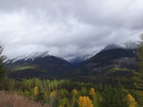 Swan Mountains, Oct. 12, 2014